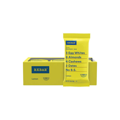RXBAR Protein Bar Lemon 12x52g