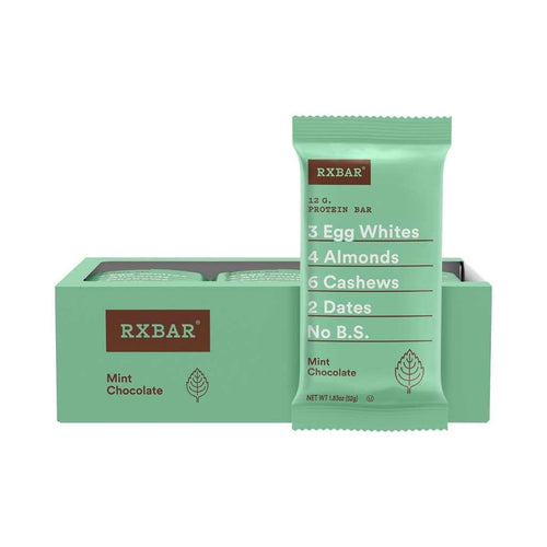 RXBAR Protein Bar Mint Chocolate12x52g