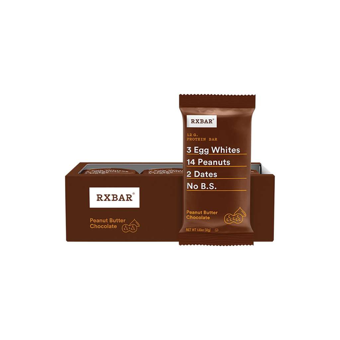 RXBAR Protein Bar Peanut Butter Chocolate 12x52g