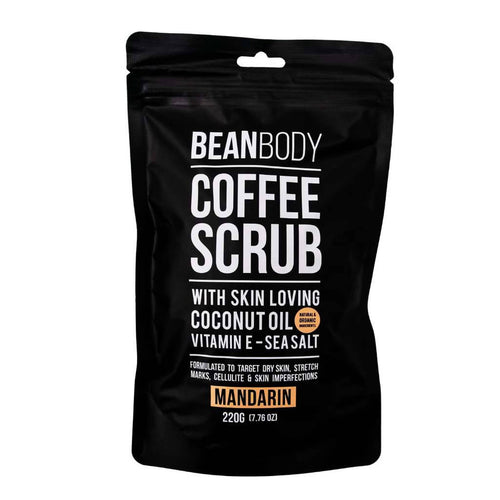 Bean Body Care Mandarin Coffee Scrub 220g
