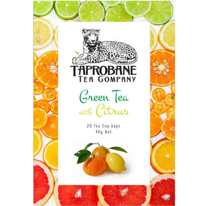 Taprobane Tea Green Tea with Citrus 40g