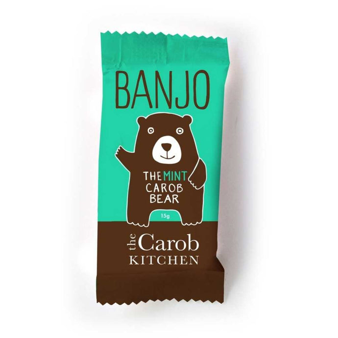 The Carob Kitchen Banjo Bear Mint 25x 15g