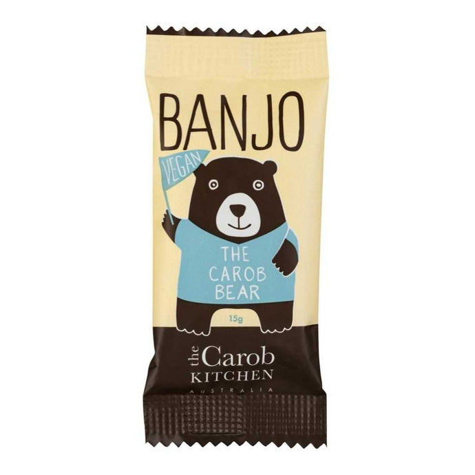 The Carob Kitchen Banjo Bear Vegan 25x 15g