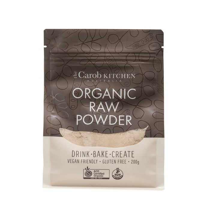 The Carob Kitchen Carob Powder Raw 200g