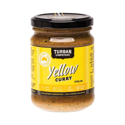 Turban Chopsticks Curry Paste Yellow Curry 240g