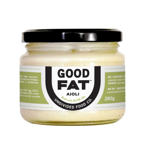 Undivided Food Co Good Fat Aioli 280g