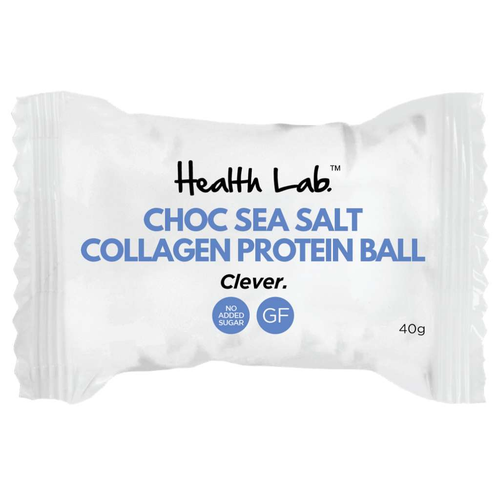 Health Lab Choc Sea Salt Collagen Protein Ball