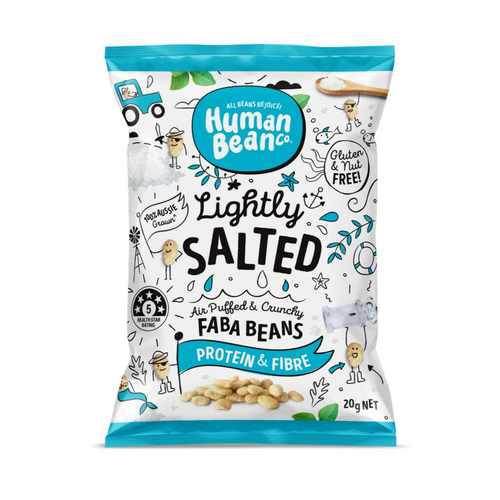 Human Bean Co Lightly Salted Faba Beans - GoodnessMe