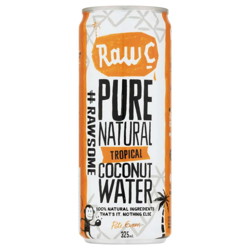 Natural Raw C	Coconut Water Tropical