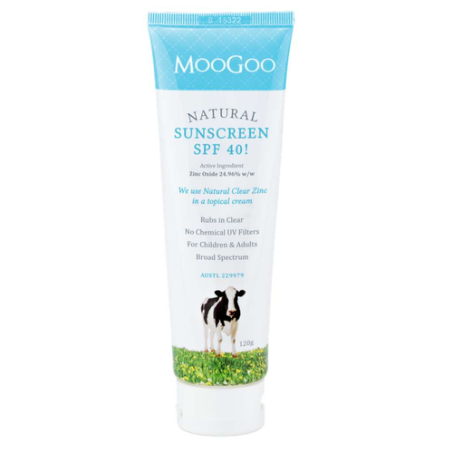 MooGoo Skincare Natural Sunscreen SPF40