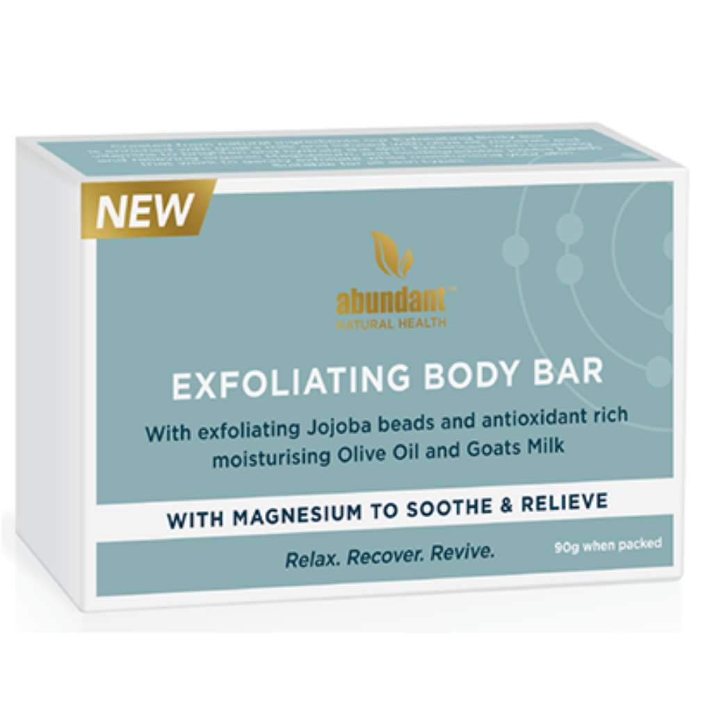 Abundant Natural Health 100% Natural Exfoliating Body Bar 3 pack