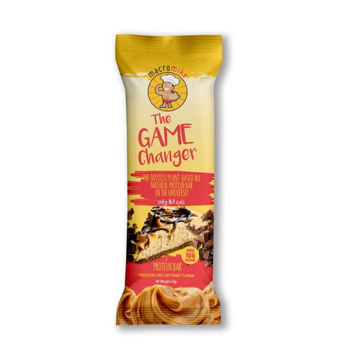 Macro Mike Game Changer Protein Bars