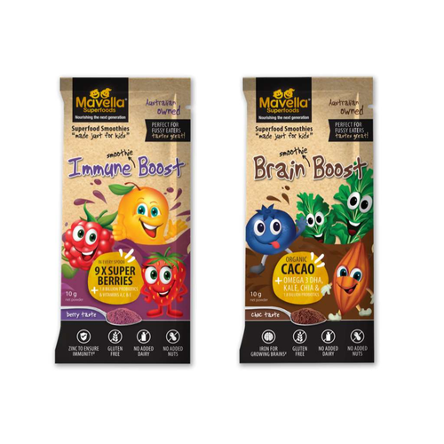 Mavella Superfoods Immune Boost and Brain Boost - GoodnessMe