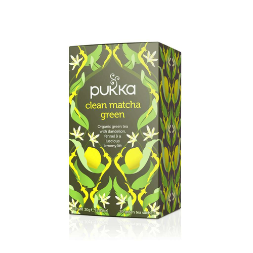 Pukka Clean Green Matcha Tea Bags (20)
