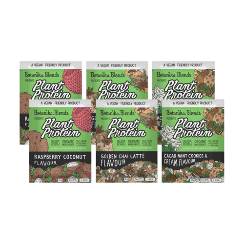 Botanika Blends Plant Protein Sampler Pack (6x40g)