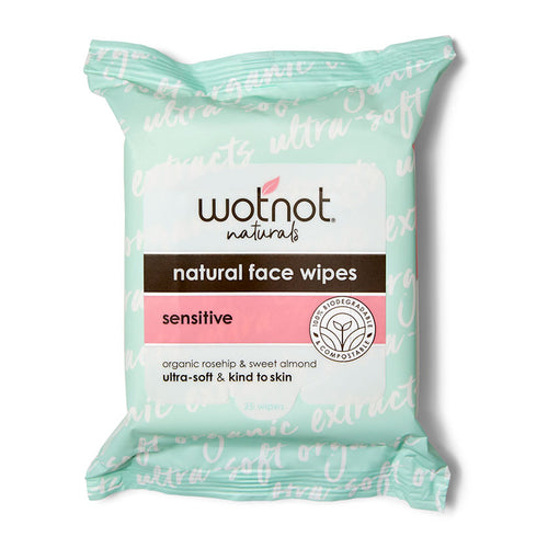 Wotnot Deluxe Face Wipes - 5 Pack