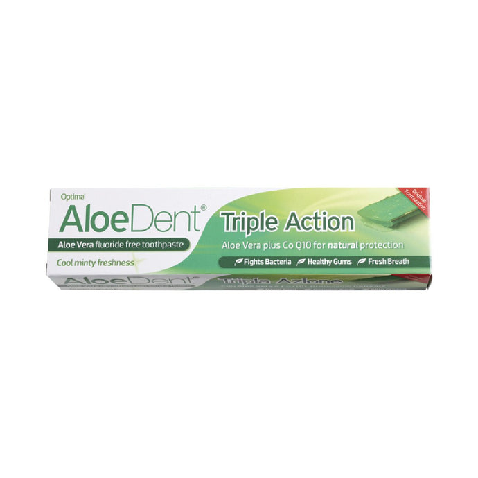 Aloe Dent Toothpaste Triple Action - GoodnessMe
