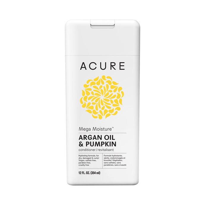 Acure Mega Moisture Conditioner Argan Oil & Pumpkin 354ml - GoodnessMe