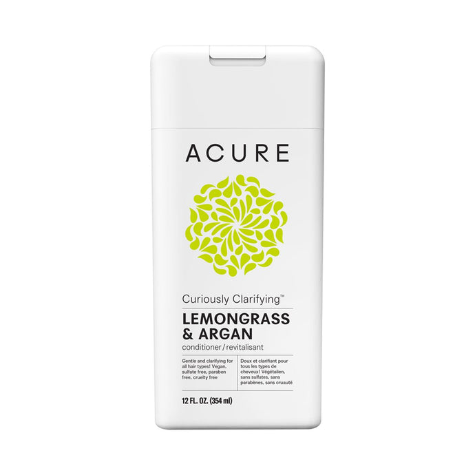 Acure Curiously Clarifying Conditioner Lemongrass & Argan Stem Cell 354 ml - GoodnessMe