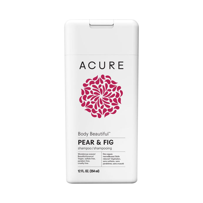 Acure Body Beautiful Shampoo - Pear & Fig 354ml