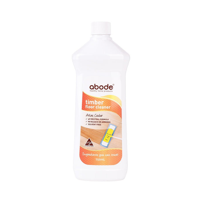 Abode Timber Floor Cleaner Atlas Cedar 750ml - GoodnessMe