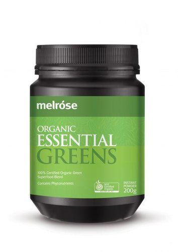 Melrose Organic Essential Greens 200g - GoodnessMe