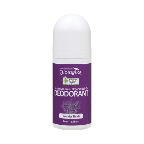 Biologika Roll-on Deodorant Lavender Fields - GoodnessMe