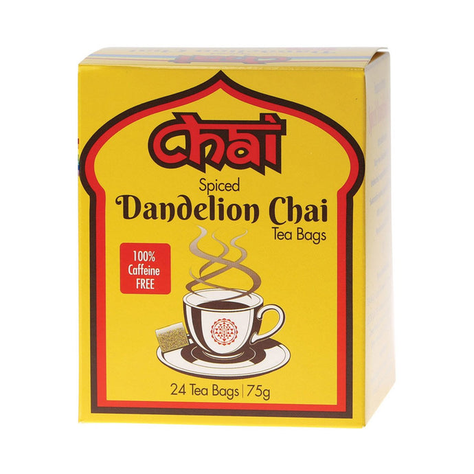 Chai Tea Spiced Dendelion Chai - Tea Bags - GoodnessMe