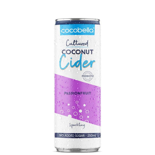 Cocobella Coconut Cultured Passion Fruit 250 ml
