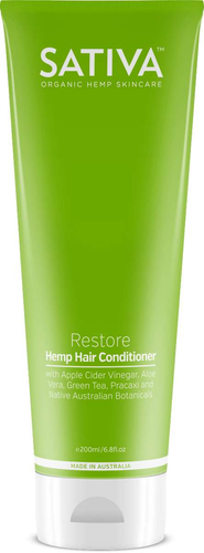 Sativa Hemp Conditioner Restore 200ml - GoodnessMe
