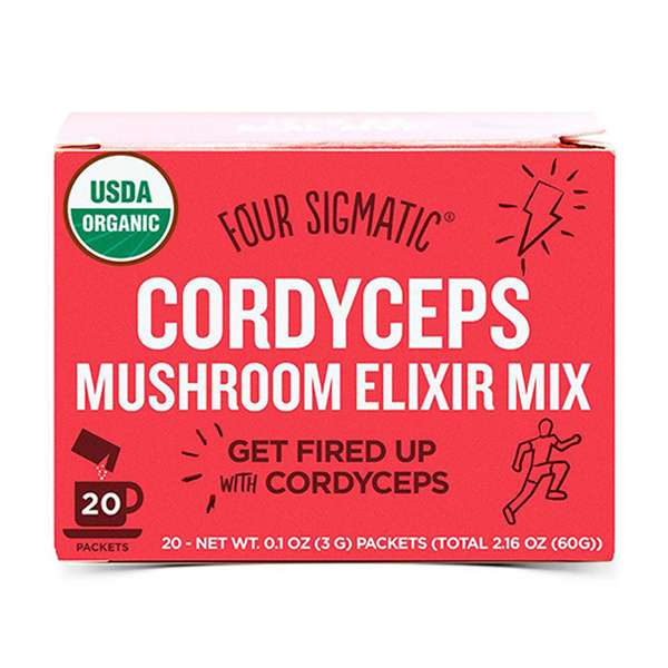 Four Sigmatic Mushroom Elixir Mix Packets with Cordyceps ( 20 x 3g ) - GoodnessMe