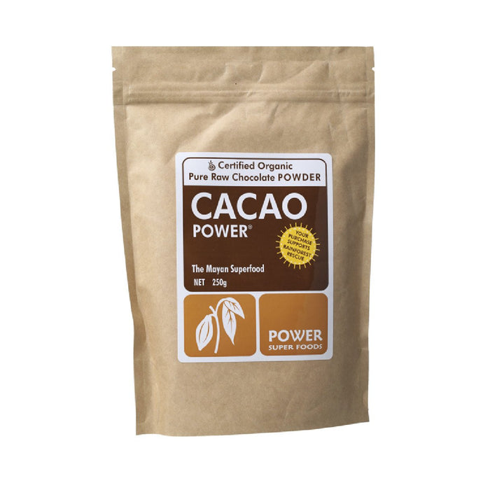 Power Super Foods  Cacao Cacao Power - Powder 250g - GoodnessMe