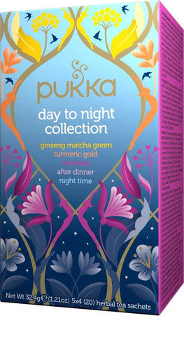 Pukka Day to Night Collection Tea Bags (20) - GoodnessMe