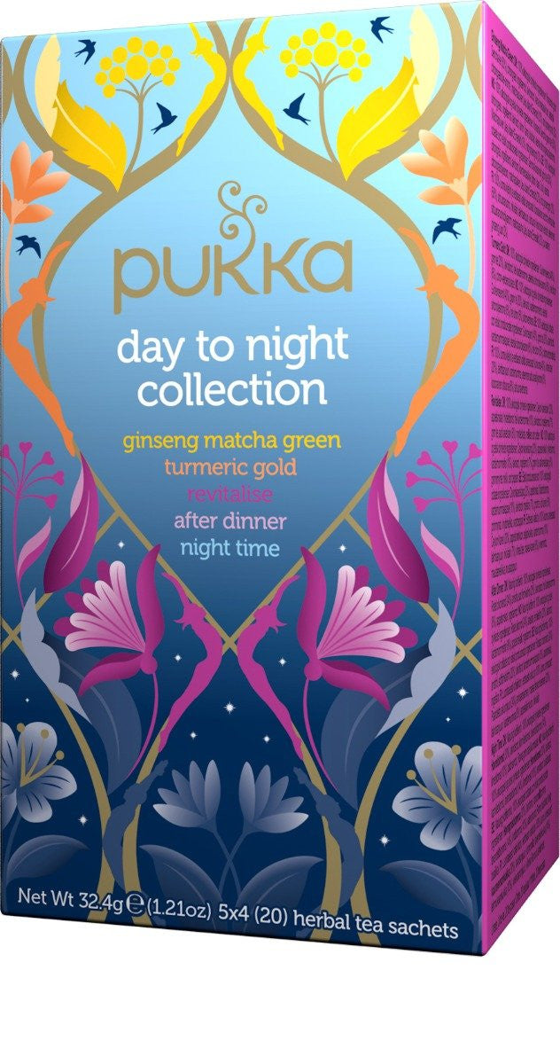 Pukka Day to Night Collection Tea Bags (20)