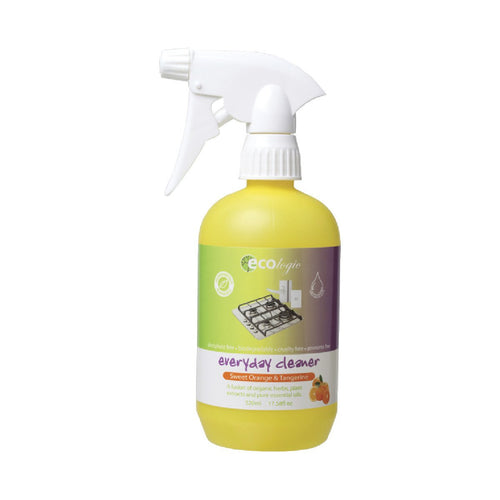 Ecologic Everyday Complete Cleaner Sweet Orange & Tangerine 520ml - GoodnessMe