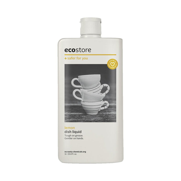 Ecostore Dish Liquid Lemon 1L - GoodnessMe