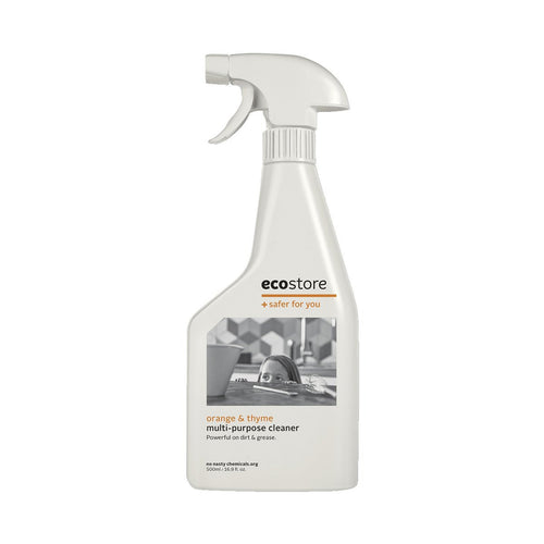 Ecostore Multi-Purpose Cleaner Orange & Thyme 500ml - GoodnessMe