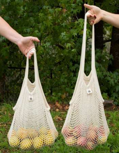 Ever Eco Tote Bag Cotton Net - Long Handle