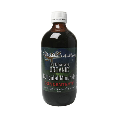 Fulhealth Colloidal Minerals - Organic Concentrate 500ml - GoodnessMe