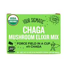 Four Sigmatic Mushroom Elixer Mix Packets with Chaga ( 20 x 3g )