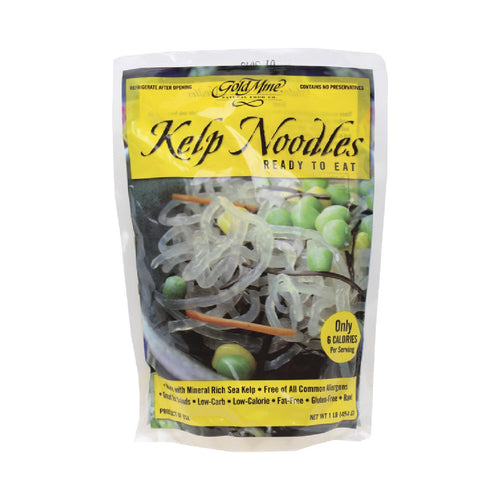 Gold Mine Kelp Noodles Original 454g - GoodnessMe