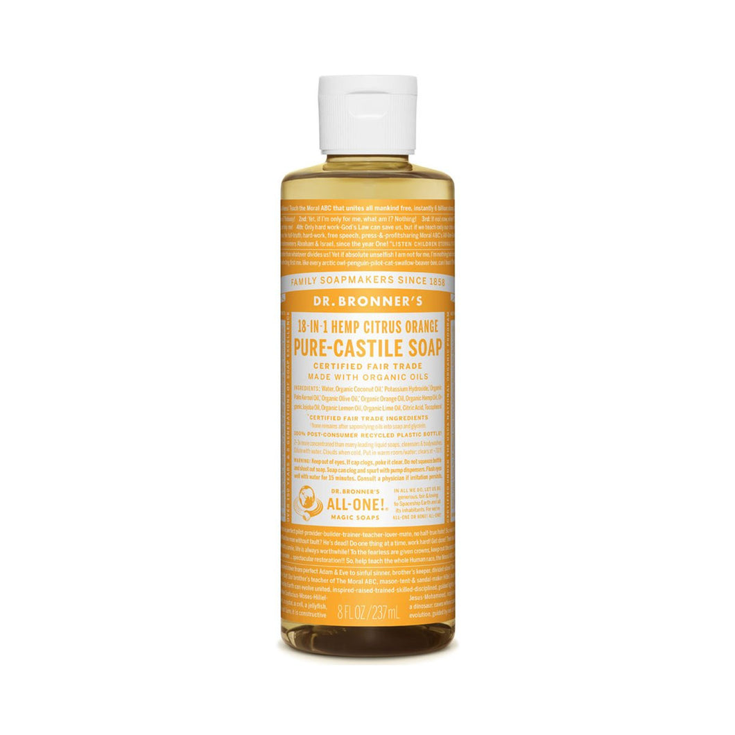 Dr Bronners Pure Castile Liquid Soap -  Citrus 237ml