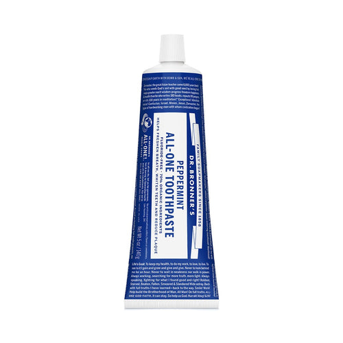 Dr Bronners Toothpaste - Peppermint 140g - GoodnessMe