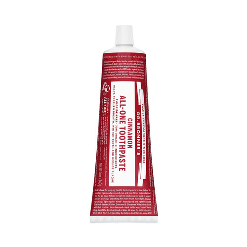 Dr Bronners Toothpaste - Cinnamon 140g - GoodnessMe