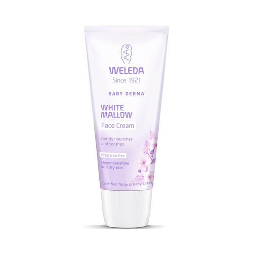 Weleda White Mallow Face Cream Baby - GoodnessMe