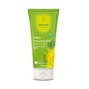 Weleda Creamy Body Wash - Citrus 200ml