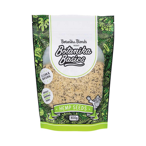 Botanika Blends Organic Hemp Seeds 300g - GoodnessMe