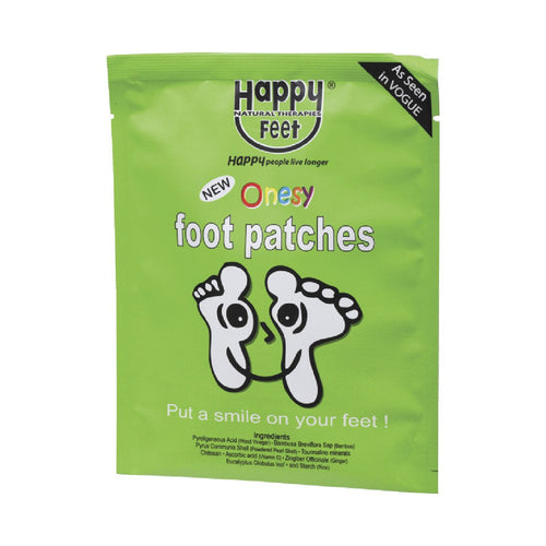 Happy Feet Foot Patches 1 Pair - GoodnessMe