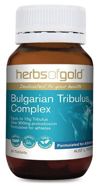 Herbs of Gold Bulgarian Tribulus Complex 60 Tablets - GoodnessMe