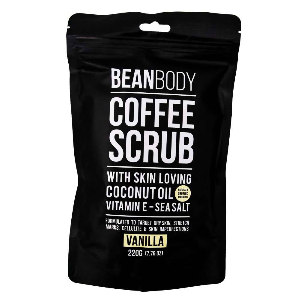 Bean Body Care Vanilla Coffee Scrub 220g